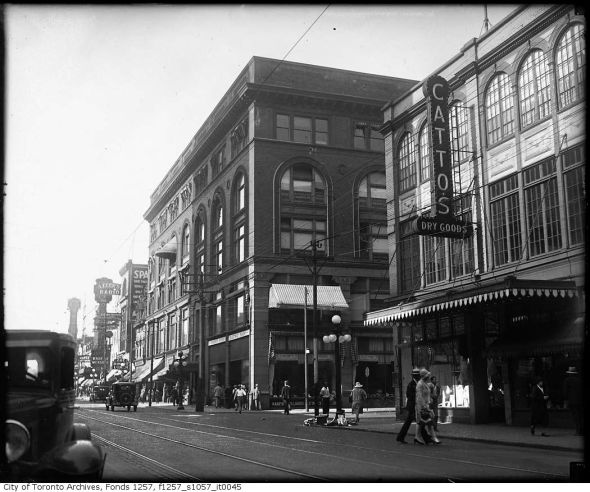 Yonge and Shuter/Then and Now